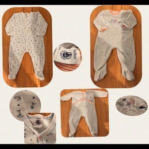 Petit Bateau Velour Body Suit